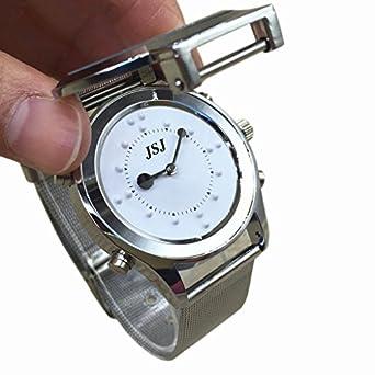 Inglés Talking y táctil reloj para ciegos Personas o personas: Amazon.es: Amazon.es