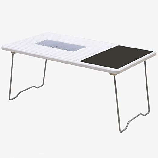 Alppq Home Office Laptop Table Escritorio Escritorio Ventilador ...