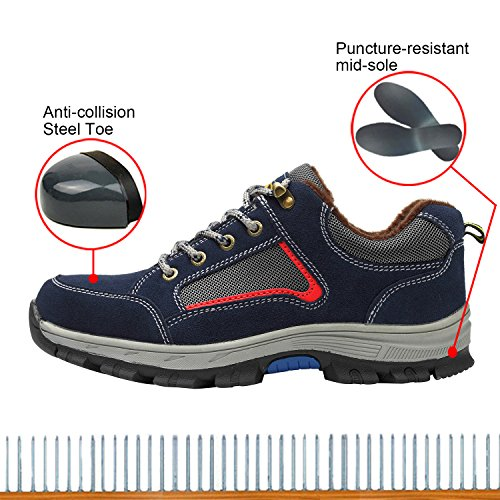 Women's Safety Shoes Shoes Shoes Protect Toe Work Optimal p7zRTxz