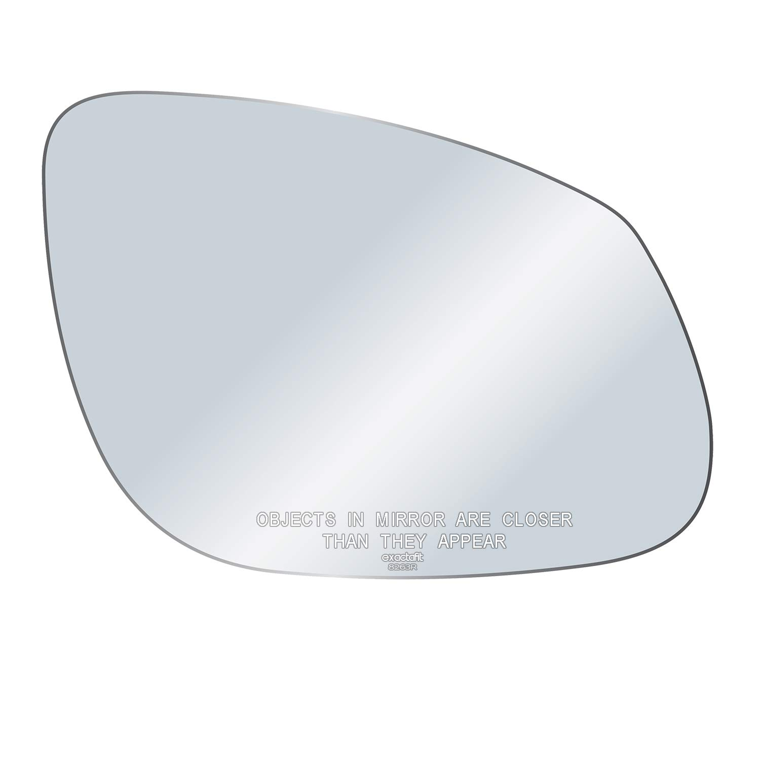 exactafit 8263R Passenger Right Side Mirror Replacement Glass Fits 2003-2006 Porsche Cayenne NON-Auto Dim ONLY by Rugged TUFF