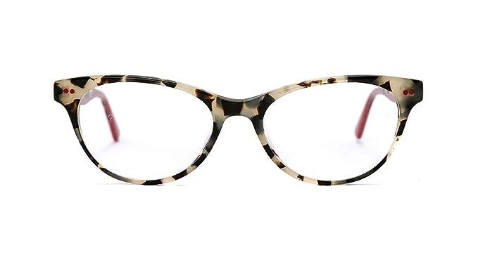 7cd77e309c7209 Etnia Barcelona FLORENTIN 17 LIGHT HAVANA RED women Eyewear Frames ...