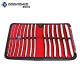 OdontoMed2011 14 Pieces Dilator Set with Pouch - HEGAR Sounds Dilator Set ODM