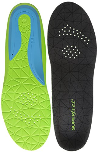 Superfeet Flexmax Athletic Comfort Shoe Insoles, Emerald, Medium/8.5-10 Women's/7.5-9 Men's M US by Superfeet