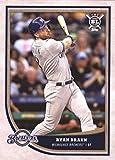 2018 Topps Big League Baseball #82 Ryan Braun Milwaukee Brewers MLB Trading Card