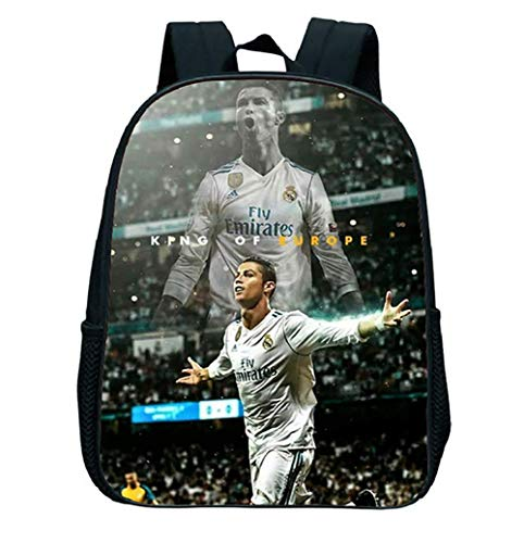 WHJY Backpack Ronaldo Sports Fan School Bags for Teenagers for sale  Delivered anywhere in USA