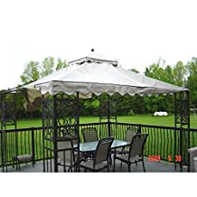 Madrid Style 10 x 12 Gazebo Replacement Canopy