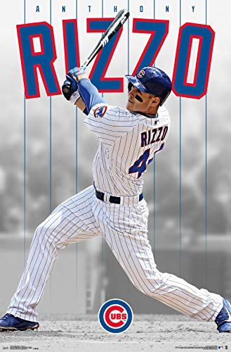 - Trends International Chicago Cubs - Anthony Rizzo Wall Poster 22.375