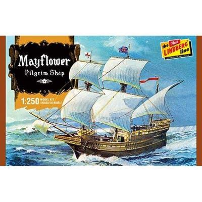 Lindberg Models LN215 1:250 Scale Mayflower Model: Toys & Games