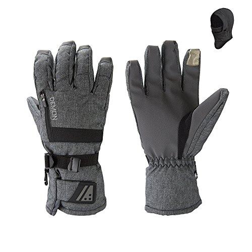 Demon Snowboard Touchscreen Gloves Balaclava