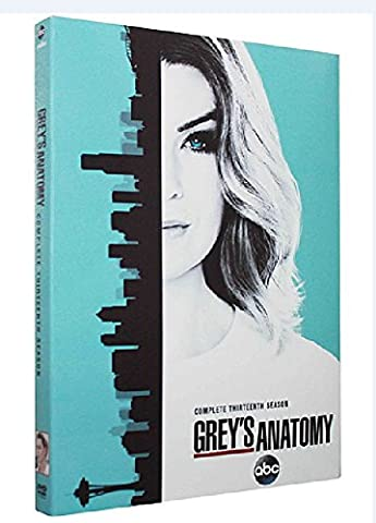 Grey's Anatomy Season 13 (DVD 5 Disc set) (Greys Anatomy Dvd Seasons)