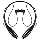 Sports Neckband Bluetooth Stereo Headset [Music play time: Up to 8 Hours, 2015 Version] For Blackberry Smartphone