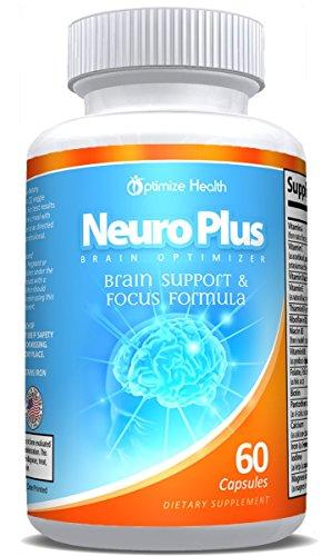 Neuro Optimizer Nootropics Supplement Capsules product image