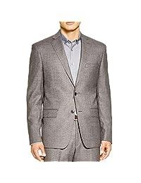 John Varvatos Mens Wool Marled Two-Button Suit Jacket