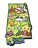 Artwood State Map Magnets