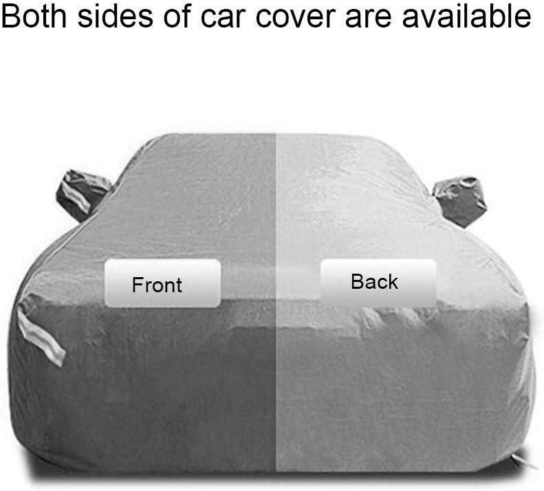 JMQCXD Housses pour Auto Compatible avec Lexus LC500 Coup/é Car Cover Outdoor antipluie Personnalit/é imperm/éable Snowproof Tissu Oxford Fashion Sunscreen Car Cover Color : Black