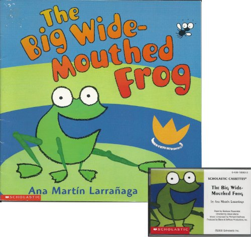 The Big Wide-Mouthed Frog Book and Audiocassette Tape Set (Paperback Book and Audio Cassette Tape)