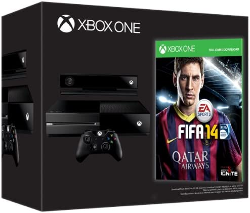 Xbox One Console: Day One Edition (with FIFA 14 download code) [Importación Inglesa]: Amazon.es: Videojuegos