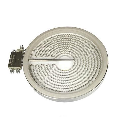 Heizkörper 175 mm Ø HiLight 1800 Watt EGO 10.58113.032 Glaskeramik Kochfeld Herd