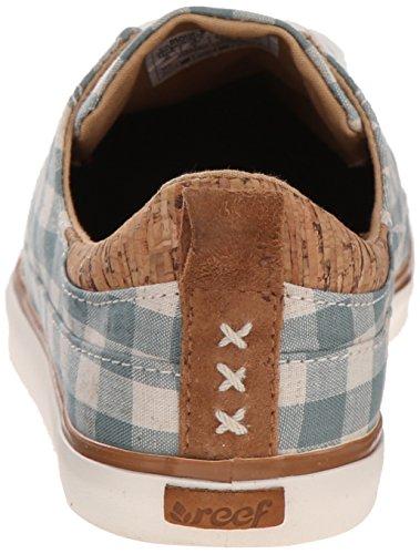 White Walled Reef Girls Women's Fashion Sneaker wnA8CRXPxq