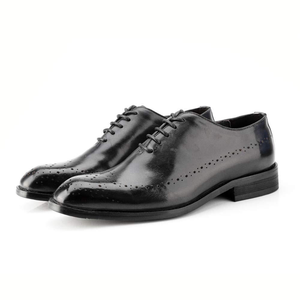 2018 Herren Business Oxford Casual Casual Casual Echtes Leder Britischen Stil Carving Gürtel Brogue Schuhe (Farbe   Wein, Größe   42 EU) (Farbe   Hellbraun, Größe   46 EU)  d708a3