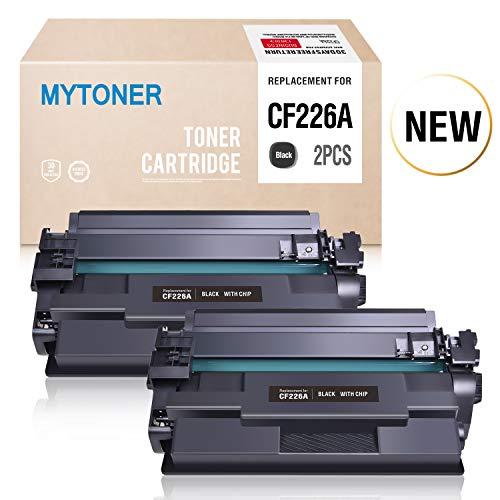 Laserjet Laserjet Printer Series - Mytoner Compatible Toner Cartridge Replacement for HP 26A CF226A 26X HP Laserjet Pro M402dn M402n M402d M402dw, HP Laserjet Pro MFP M426dw M426fdw M426fdn, HP M402 M426 Series Printer Ink (2-Black)