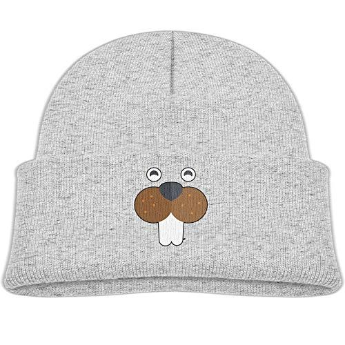 Peruvian Laplander Knit - Qiop nee Beanie Hats Wool Skull Caps Kawaii Beaver Face Boys' Girl Baby Soft