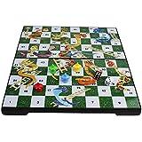 "ShopNGift Premium Folding Magnetic Travel Snakes and Ladder Set - 6.2"" Board Game"