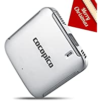 COCOPICO - N1 Premium Audio Pico WVGA Wireless Smart DLP Projector - Silvery