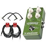 TC Electronic Corona Chorus Pedal w/4 FREE Cables!