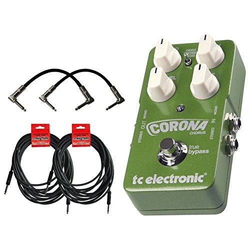 (TC Electronic Corona Chorus Pedal w/4 FREE Cables!)