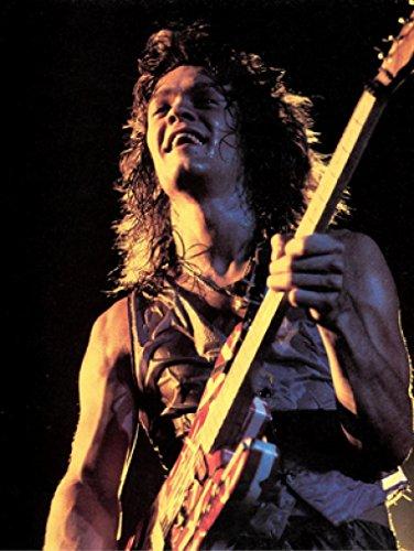 Eddie Van Halen New Printed Poster Rare