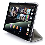 VSTN ® Sony Xperia Z3 Tablet Compact 8 inch tablet ultra-thin Smart Cover Case with Auto Sleep / wake fuction , Only fit Sony Xperia Z3 Tablet Compact Tablet [Life Time Warranty] (White)