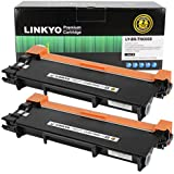 LINKYO Compatible Toner Cartridge Replacement for Brother TN660 TN-660 TN630 (Black, High Yield, 2-Pack)
