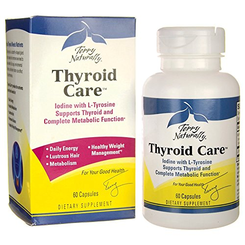 Terry Naturally Thyroid Care - 60 Capsules by Terry Naturally (Image #2)