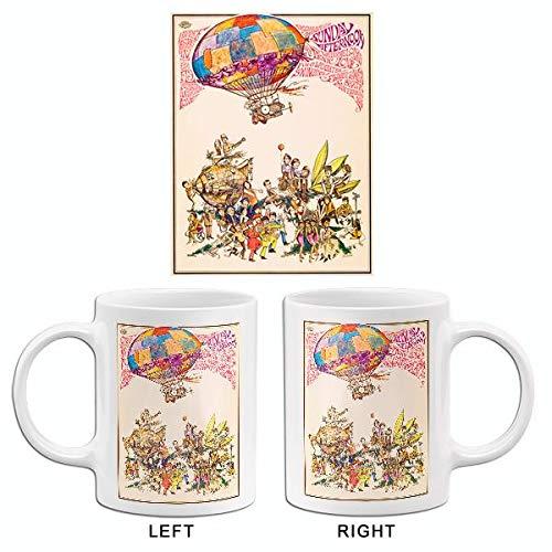 Hippee Love - Haight-Ashbury - Flower Power - 1967 - Pop Art Mug