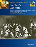 Carolan's Concerto for Flute and Keyboard Optional Cell Book/CD 15 Easy-Intermediate (Baroque Around the World Series)