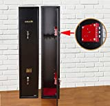 Ultimate Safe 3 Shotgun Gun Safe Cabinet With Unique Triple Blade Lock Compliant With BS7558/92
