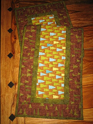 s Quilted Table Runner, Reversible, 13x48