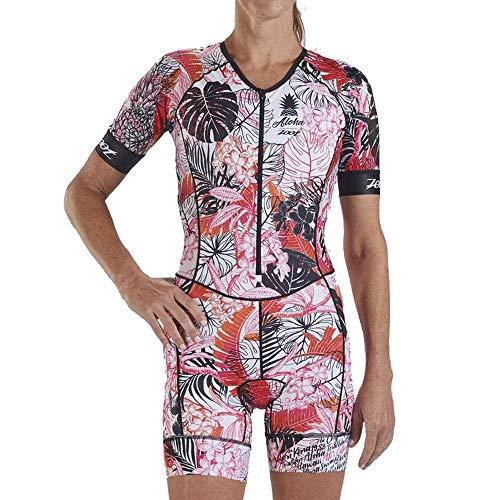 Zoot LTD Tri Aero SS Women's Race Suit - SS19 - XX Large - Pink (Aero Ss)