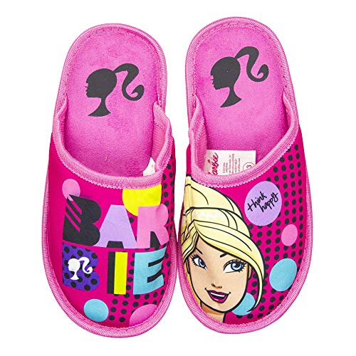 Disney(Princess,Elena of Avalor,Minnie)& License(Paw Patrol) Slippers for Girls(Tod 9.5/10.5 to Chld 3/3.5 (Chld 2, Barbie)