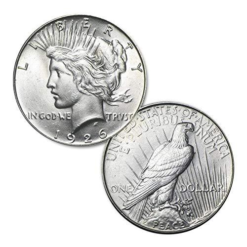 (1926 P Peace Silver Dollar $1 Brilliant Uncirculated)