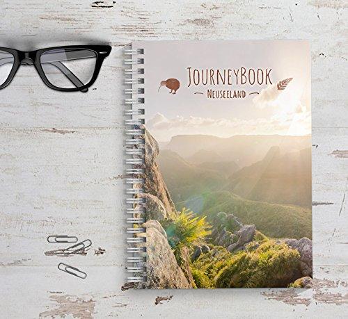 Reisetagebuch Neuseeland zum selberschreiben / als Abschiedsgeschenk