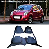 Interior Accessories Floor Mats Carpets Foot Pads Covers Protector For Suzuki Alto 2009-2013 (Left Hand Side Driving)