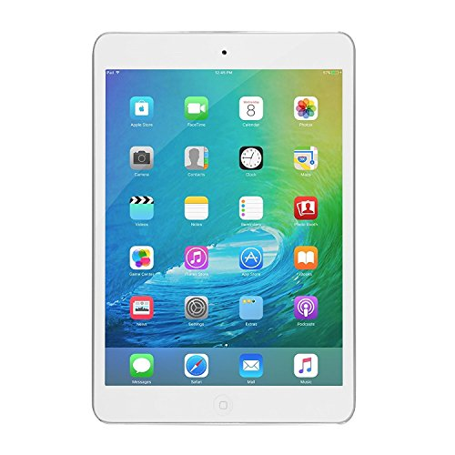 Apple iPad Mini 2 with Retina Display ME279LL/A (16GB, Wi-Fi, White with Silver) (Renewed)