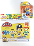 play dough despicable me - Play-Doh Make a Minion Set Despicable Me Minions,Play-Doh Mini 4 Pack,and Minions Movie Wind-Up Action Minion.