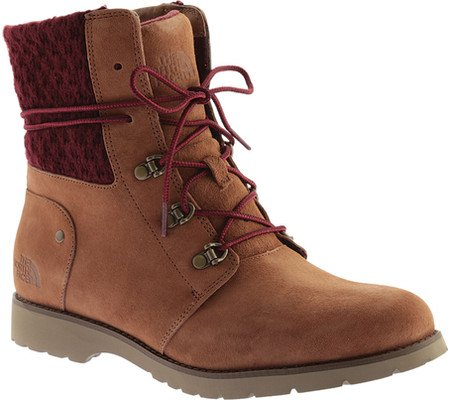 The North Face Womens Ballard Round Toe Ankle Fashion Boots B0195KJAHE 10.5 B(M) US|Dachshund Brown/Deep Garnet Red (Prior Season)
