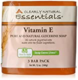 Clearly Natural Glycerine Bar Soap, Vitamin E, 3 bar, 12 Ounce (Pack of 8) Review