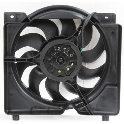 MAPM Premium CHEROKEE 97-01 RADIATOR FAN SHROUD ASSEMBLY, 6cyl