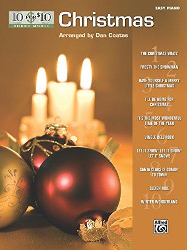 (10 for 10 Sheet Music Christmas: Easy Piano)