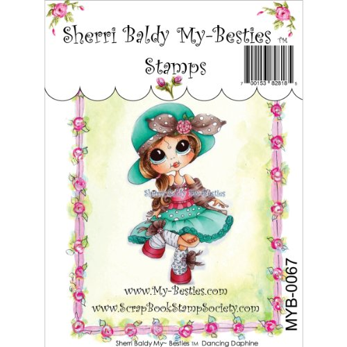 My-Besties MYB67 Clear Stamp, Dancing Daphine, 4-Inch x 6-Inch